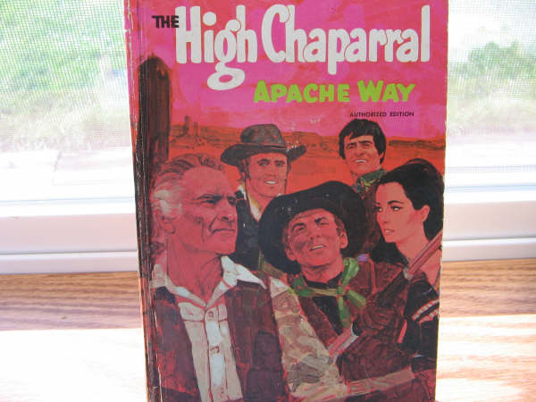 High Chaparral Book