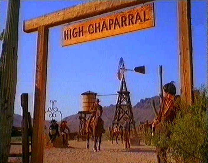 High Chaparral Ranch Set at Old Tucson