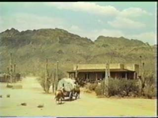 High Chaparral ranch house from Pilot episode