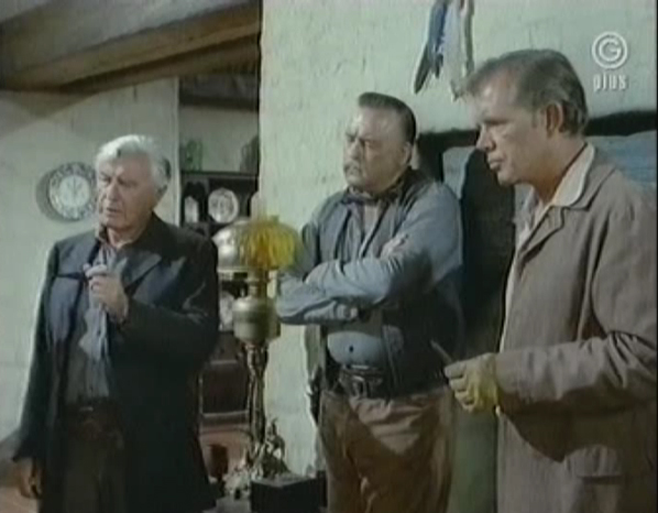 Ranchers from The High Chaparral episode Wind