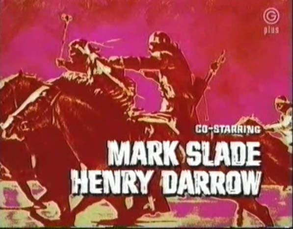 Red Panel from the introduction of each episode of The High Chaparral