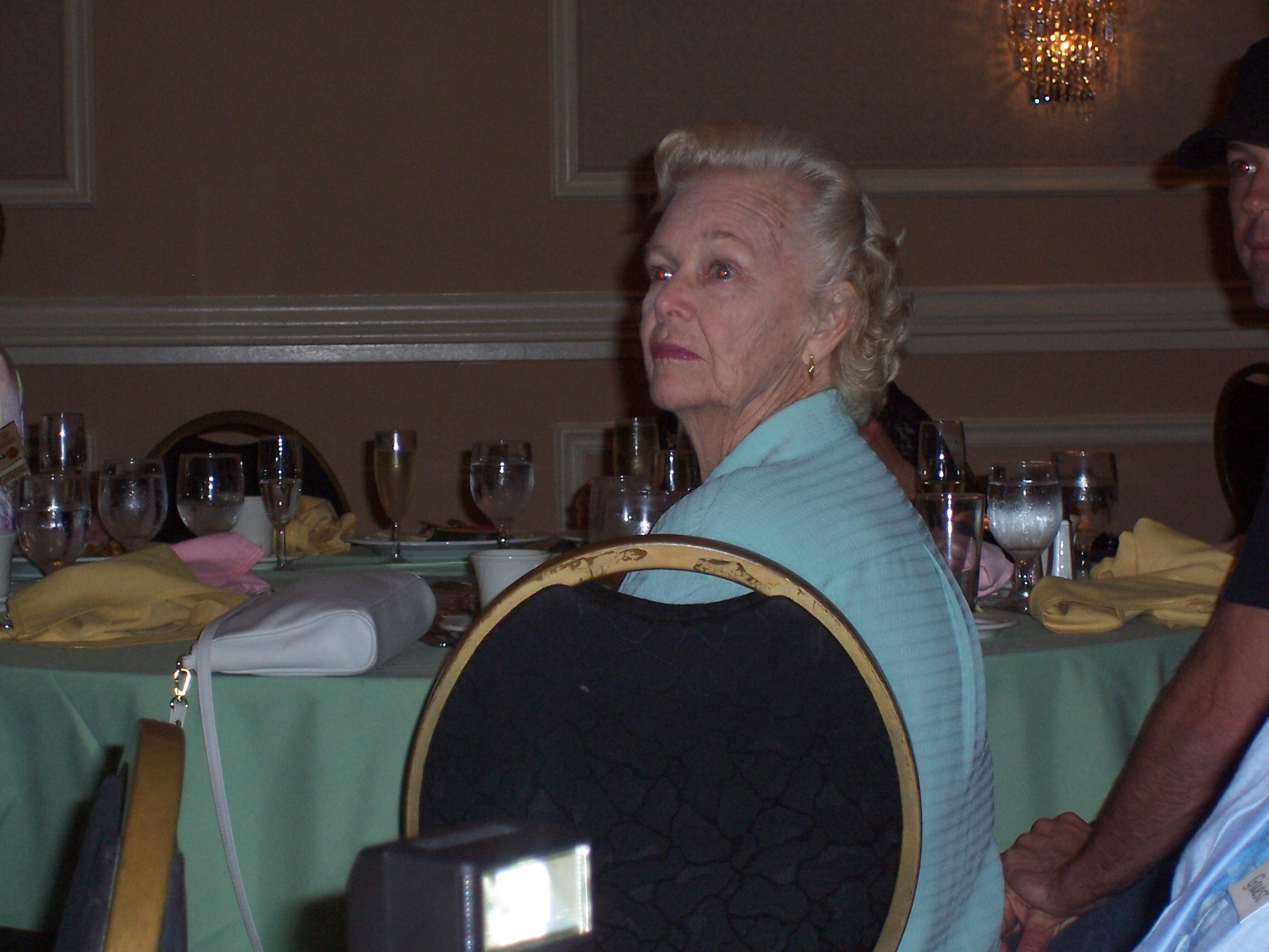 Ann Erickson (wife of Leif Erickson) attended with her grandson, BJ